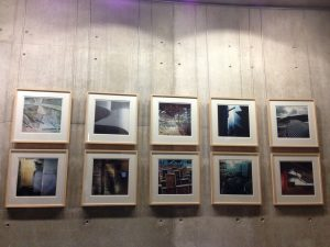 Niall Hendrie, Light under Clouds, photographs made during the construction of the building