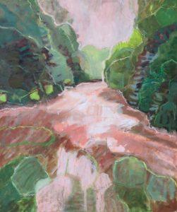 Catherine Coulson | Druid Loch | 2019 | oil on board | 20x24in