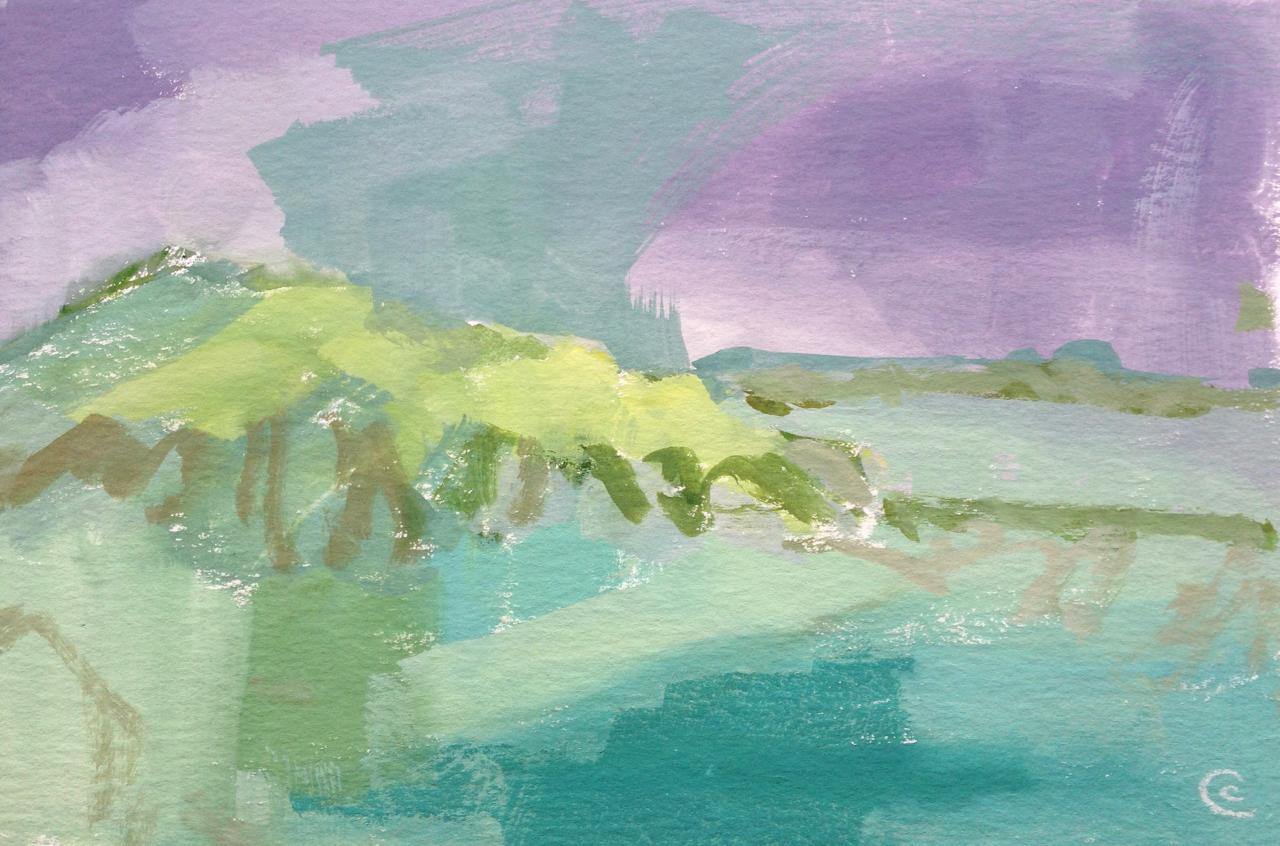 Rough Island, Dawn