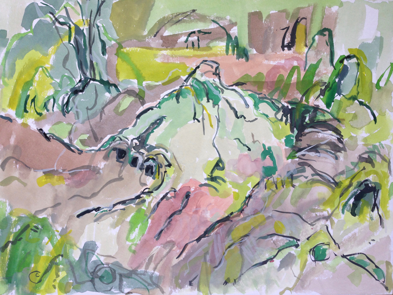 Sphagnum Mound, Kirkconnell Flow